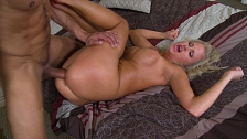 Rough Sex With Busty Blonde