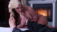 Romantic Sex With Blonde WIfe